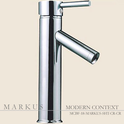 Modern Markus Luxury Single Handle Bowl Bathroom Faucet